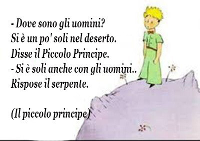 Il Piccolo Principe Mondo Citazioni